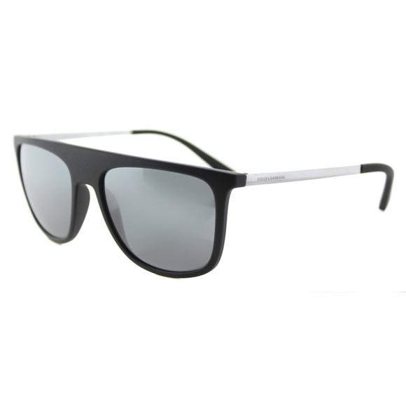 5b9297a2f Dolce & Gabbana Other - Dolce & Gabbana Black Mirror Square Sunglasses